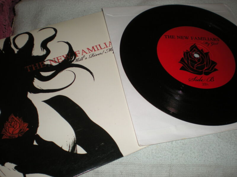 The New Familiars Mill's River 7 inch vinyl My Girl Temptations cover version
