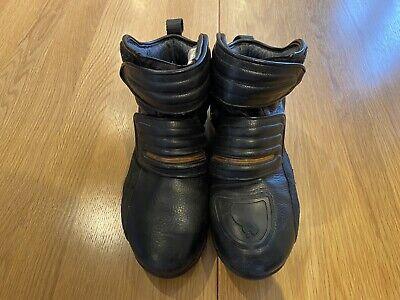 Puma Flat 2 Motorcycle Boots Size 10 1/2