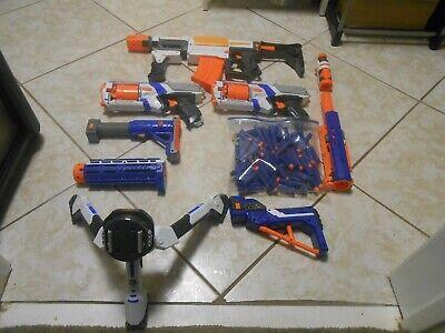 Nerf Guns + Riffle Lot + Extras