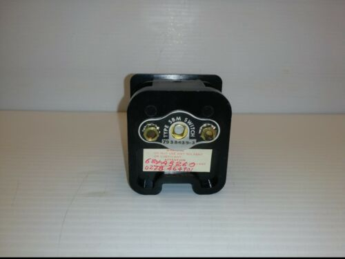GENERAL ELECTRIC 793B439-3 TYPE SBM SWITCH, ROTARY CAM