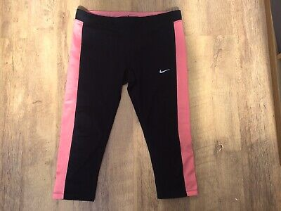 Women's Nike Dri- Fit Cropped Gym Leggings Size Large