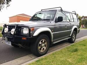 1999 4WD Mitsubishi Pajero, petrol/LPG Hallam Casey Area Preview