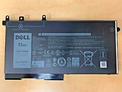 New Genuine Dell Latitude E5280 E5480 Battery 51Wh 11.4V 93FTF for sale  Shipping to India