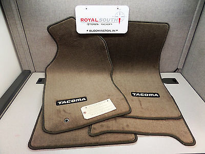 Toyota Tacoma Xtracab 96-04 Oak Carpet Floor Mats Genuine OEM OE