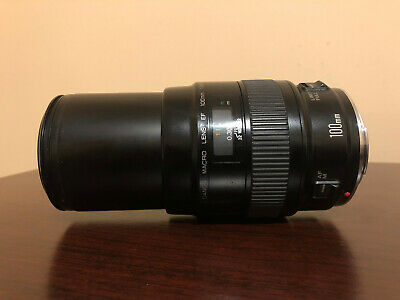 Used Canon EF 100mm f/2.8 Macro Lens #858