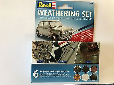 +++ Revell Weathering Set (6 Pigmente) 39066