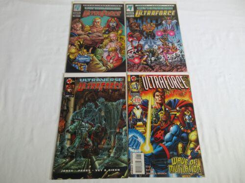 UltraForce (1994 Malibu) #0 1 4 + Vol. 2 #1 bonus (4 issue lot)  NM-