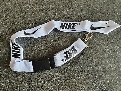 NIKE Lanyard ID Badge Keychain Holder chain iPod Camera Neck Strap Detachable