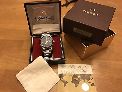 Vintage Omega Seamaster Cosmic 2000 166.137 Automatic Dive Watch w/box
