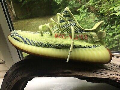 Adidas yeezy Boost 350 V2 Semi Frozen Yellow UK 9