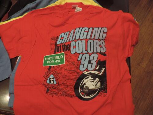 Vintage Christian Motorcyclists Association XL T-Shirt 1993 Hatfield AR Change