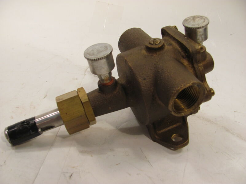 """JABSCO 4590-0001 Neoprene  UTILITY PUMP  3/4 """"  inlet and outlet"""