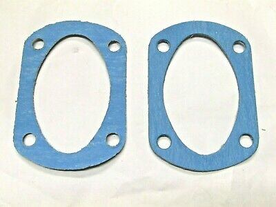 UK MADE PAIR OF ENGINE SUMP GASKETS TRIUMPH PRE UNIT UPTO 1962 70 0487