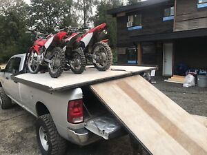 Sled deck ... for atvs dirt bikes side by side x snowmobile