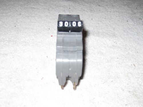 U B INC BRAND 30 AMP 2 POLE UBIF-230N FPE NC230