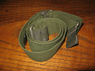 USGI green web sling m20 like garand wide bazooka MRT JUN 53