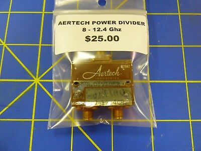 Aertech Power Divider 8-12.4 Ghz Bin Location Ebt1-1