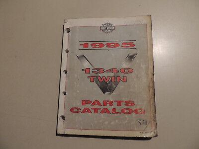 Parts catalog ue Teile Katalog HARLEY-DAVIDSON 1340 Twin 1995 FLT DYNA Softail, gebraucht gebraucht kaufen  Flensburg