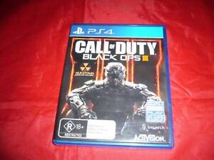 Playstation 4 Ps4 Call of Duty: Black Ops III 3 Free Postage