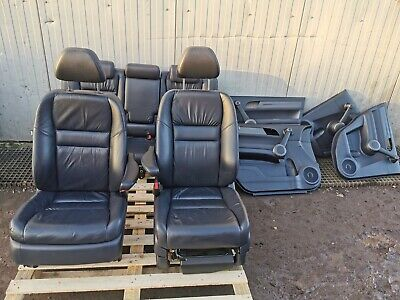 HONDA CR-V CRV MK3 2011 COMPLETE INTERIOR LEATHER SEATS FRONT & REAR WITH CARDS