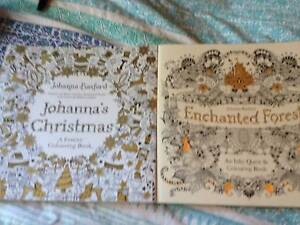 2 of Johanna's best colouring books Withers Bunbury Area Preview