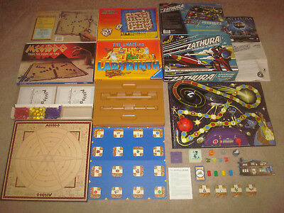 The Amazing Labyrinth + Megiddo + Zathura BOARD GAME LOT Party Strategy Fantasy for sale  Belleville