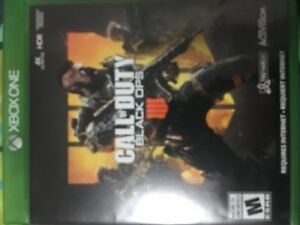 Call of duty - black ops 4 for sale