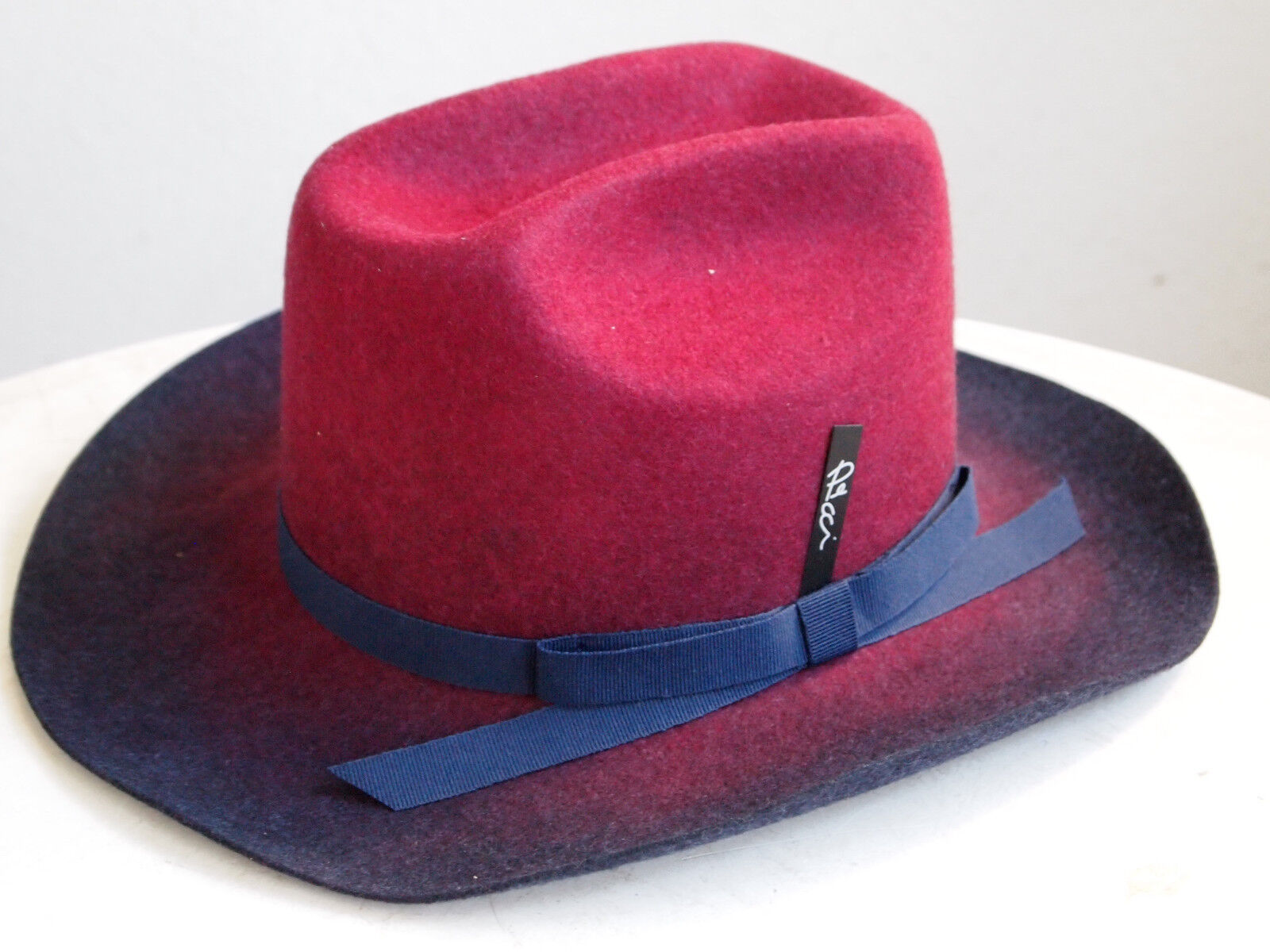 Texas++++ edler italienischer Designer Filzhut Cowboy Hut 100% Wolle Hipster