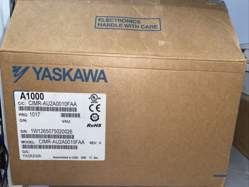 YASKAWA A1000 MODEL CIMR-AU2A0010FAA AC DRIVE! NEW OPEN BOX