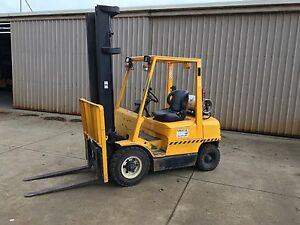 2.5ton Hyster Gas forklift Leongatha South Gippsland Preview