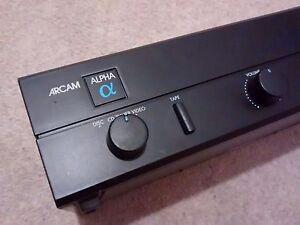 Arcam Alpha 2 hi-fi amplifier