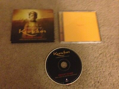Kundun Music from the Original Soundtrack by Philip Glass CD MARTIN  (Scorsese Glasses)
