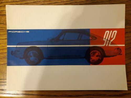 1967 Porsche 912/911 original brochure
