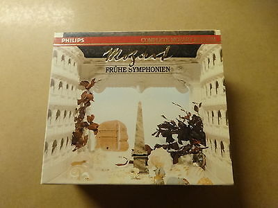 6 CD BOX / MOZART, MARRINER: FRUHE SYMPHONIEN - COMPLETE MOZART - VOL 1 (PHILIPS