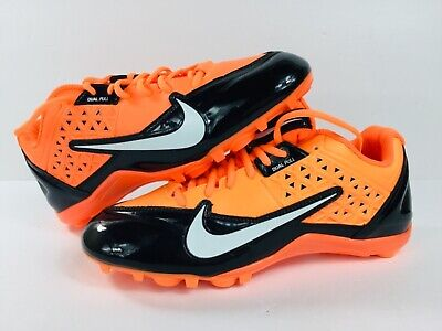 Men`s Nike Alpha Strike D Football Cleat  579371-018 No Spikes/Fading SZ 10  (Football Cleat Spikes)