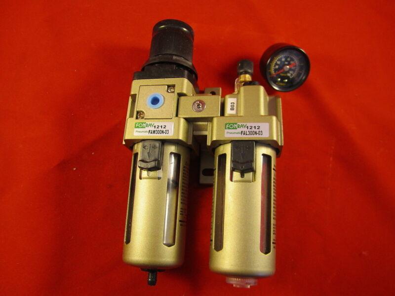 "Air Filter Regulator Lubricator FAC301N-02 1/4""- FRL SMC"