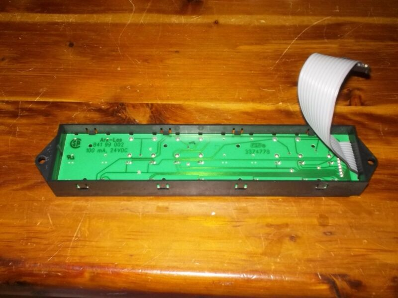 3374778 Whirlpool Dishwasher touchpad control panel display tested good