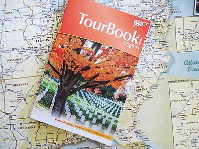 Aaa 2016 Tour Book Guide Virginia New Maps Discounts Hotels Rating  14 95 Msrp
