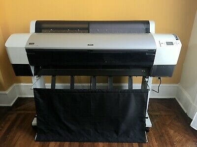 Epson 9800 Wide Format Printer - Clean Printhead Nozzles