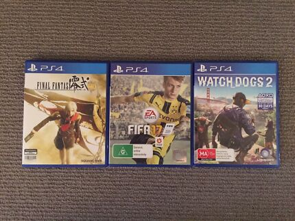 Wanted: PS4 Game Bundle for Sale