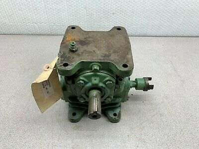 Used Morse Speed Gear Reducer 2.26hp 1750 Rpm 51 Ratio 20w
