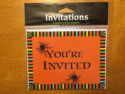 (48) Halloween Invitations