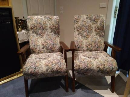 Arm chairs.