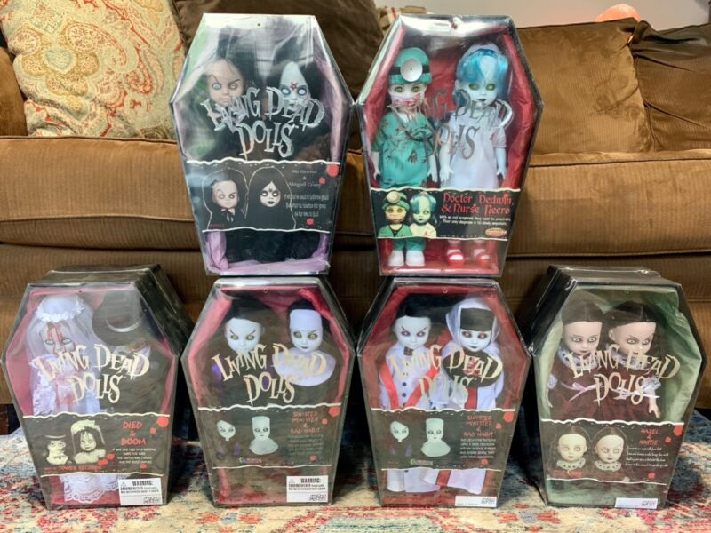 Living Dead Dolls Double Exclusives Lot Unopened