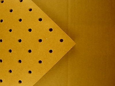 6mm wooden Pegboard 1200MM X 600MM,6mm hole with 25mm Hole centres hardboard