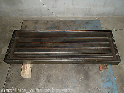 42 X 12.25 X 1.5 Steel Welding T-slotted Table Cast Iron Layout Plate T-slot