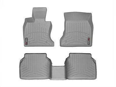 WeatherTech FloorLiner for BMW 5-Series Gran Turismo xDrive - 2010-2013 - Grey