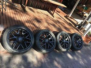 """19"""" holden commodore wheels black Forest Hill Whitehorse Area Preview"""
