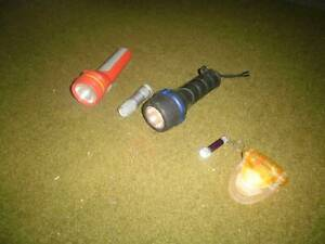 Torches (assorted), electrical light Glen Waverley Monash Area Preview