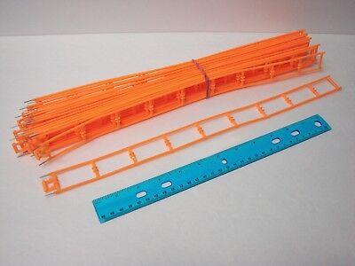 Micro Knex Track Lot 22 Orange 16